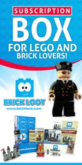 Af. Link: Brick Loot makes a great gift for kids or anyone who loves LEGO and brick building.