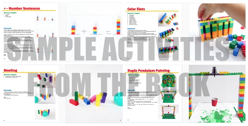 The Unofficial Guide to Learning with Lego has amazing activities for kids to build with Lego Bricks (Aff link)