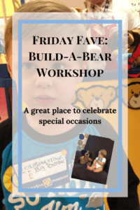 Build A Bear is a great place to take kids when you have something to celebrate or commemorate. We went to celebrate that our son was going to be a big brother and had an amazing time.
