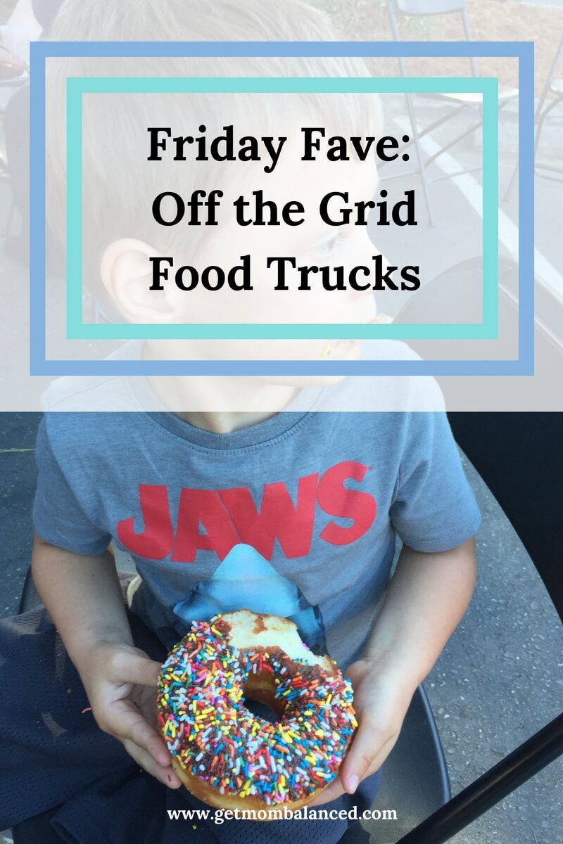 Going out for dinner with kids can be hard- a great option is to find for trucks in your area, like with Off the Grid!