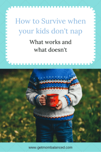Surviving the loss of naps can be rough but we've figured out a few things that work.