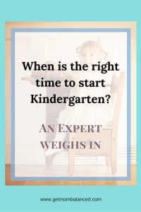 When should my child start kindergarten? This can be a stressful time for parents. Knowing when to start kindergarten can be tough, especially if your child has a summer birthday. Read points from a professional about making the decision.