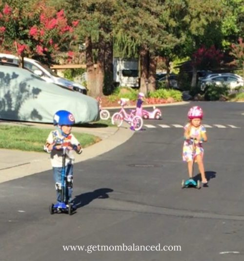 The Micro Kick Scooter is great for kids. Knowing whether to choose the Maxi or Mini Kick Scooter can be confusing- here's some help.