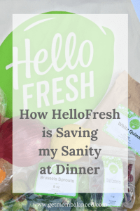 Dinner with Hello Fresh | Easy dinner | Fast meals |