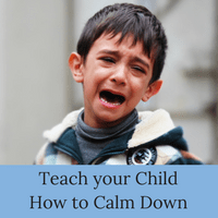3 steps to a calmer child. Teach your kid to calm down with these three easy steps.