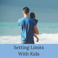 Setting Limits with Kids is important for parents. This posts discusses why limits for children are important and how to set limits with kids.