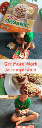 #ad Get More Work Accomplished at Home with LUNCHABLES Organics