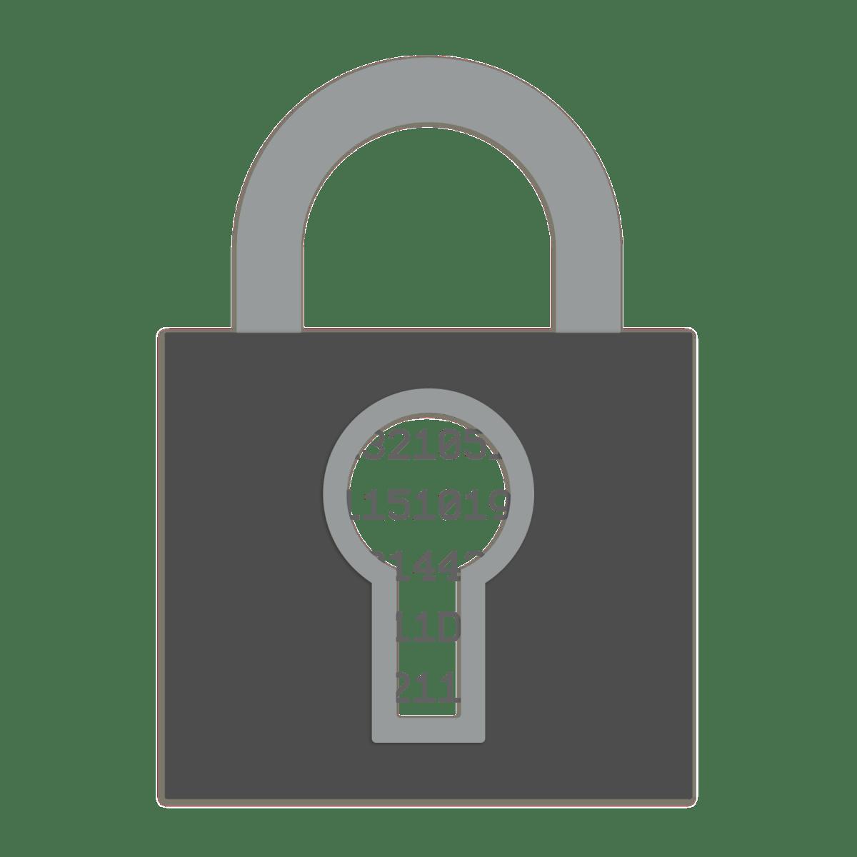 Encrypted lock