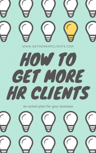 Marketing Advice For Human Resources Consultants