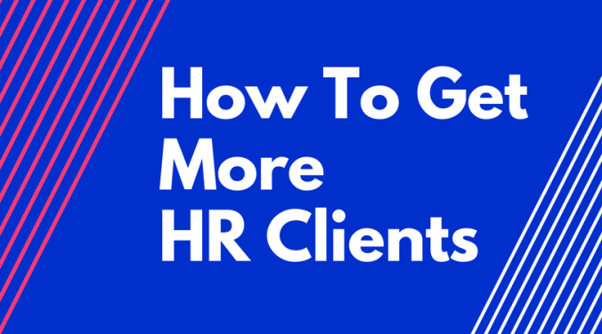 how to start an HR consulting business