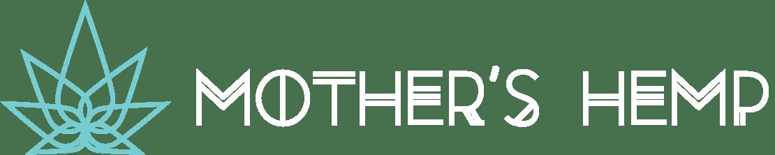 White Mother's Hemp Logo