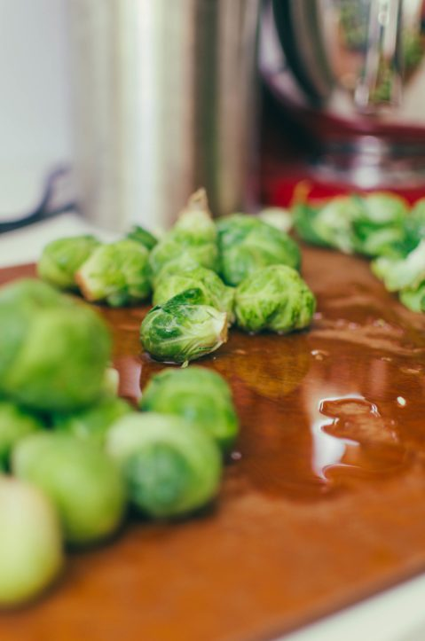 Cut Brussel Sprouts - The Mummy