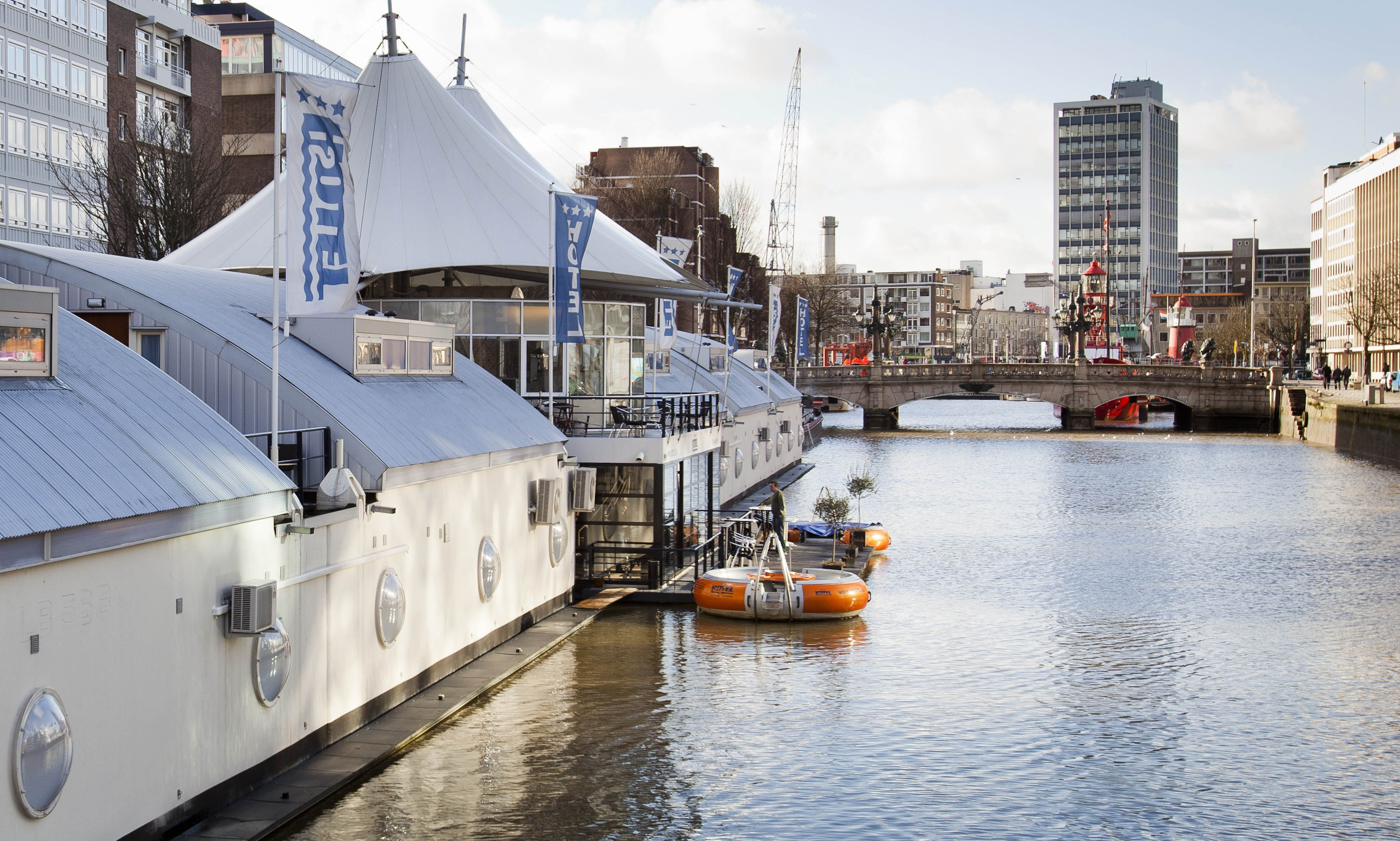 H2otel Hotel On The Water In Rotterdam