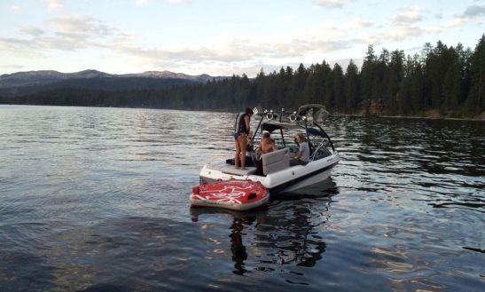 Jet Lake Idaho Cascade Ski Yamaha