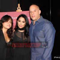 The Fast and Furious Family - Vin Diesel, Michelle Rodriguez, Mirtha Michelle and Vin's Daughter - Continuously Supporting Each Other [Photos]