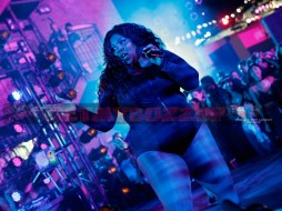 """LOS ANGELES, CA - NOVEMBER 03: Musical artist Lizzo performs onstage at MTV's """"Wonderland"""" LIVE Show on November 3, 2016 in Los Angeles, California. (Photo by Mark Davis/Getty Images for MTV) *** Local Caption *** Lizzo"""