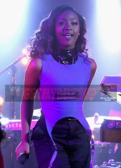 "LOS ANGELES, CA - NOVEMBER 17: Singer Justine Skye performs onstage at MTV's ""Wonderland"" LIVE Show on November 17, 2016 in Los Angeles, California. (Photo by Randy Shropshire/Getty Images for MTV) *** Local Caption *** Justine Skye"