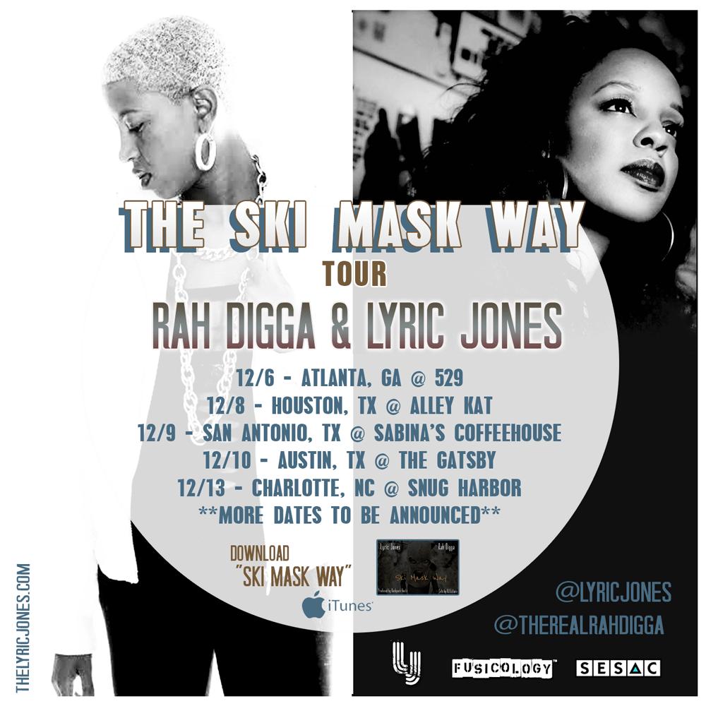 SKI MASK WAY TOUR 2016 Ft. RAH DIGGA and LYRIC JONES