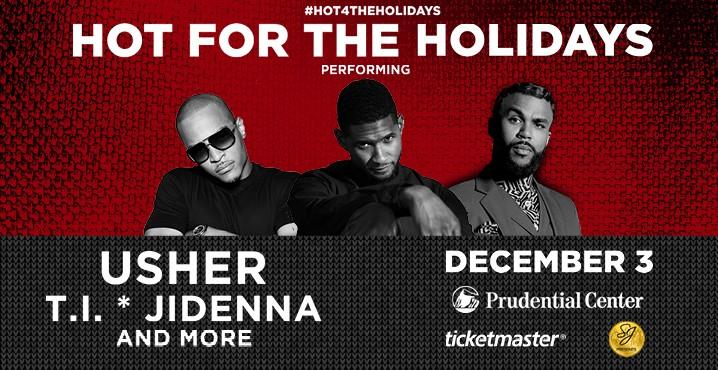 SJ Presents & Hot 97 Makes It Hot This Holiday Concert With Usher, TI, Young M.A, Remy Ma & More [Event]