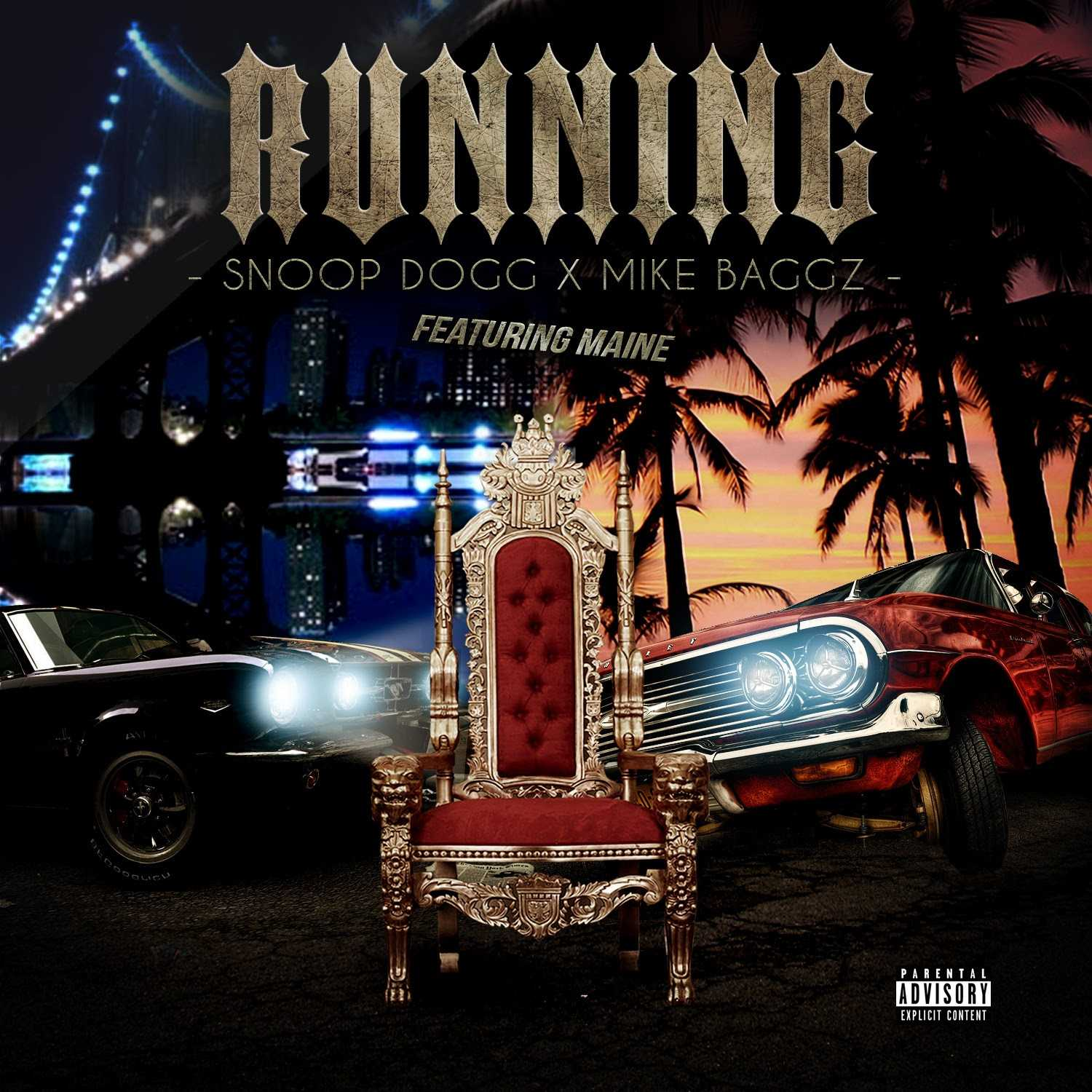 """Snoop Dogg and Mike Baggz - """"Running"""" [Audio]"""