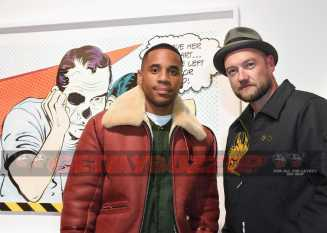 LONDON, ENGLAND - DECEMBER 08: Reggie Yates and D*Face attend The Dean Collection X Bacardi Present No Commission: London on December 8, 2016 in London, England. (Photo by David M. Benett/Dave Benett/Getty Images for Getty Images) *** Local Caption *** Reggie Yates; D*Face