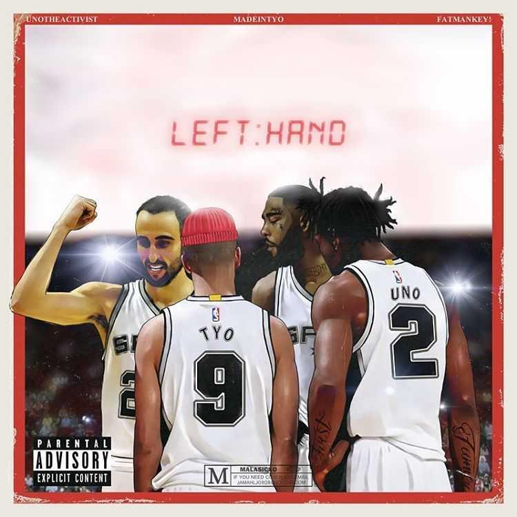 "Madeintyo - ""Left Hand"" Feat. UnoTheActivist & Key! [Audio]"
