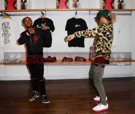 -Hollywood, CA - 12/14/2016 Rae Sremmurd And Interscope Records With Wear. Music Pop Up Experience -PICTURED: Rae Sremmurd -PHOTO by: Startraks Photo -SDL_1015 Startraks Photo New York, NY For licensing please call 212-414-9464 or email sales@startraksphoto.com