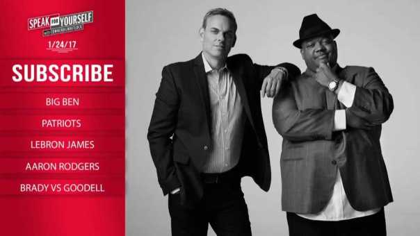 SPEAK FOR YOURSELF Audio Podcast (1.24.17) with Colin Cowherd, Jason Whitlock   SPEAK FOR YOURSELF