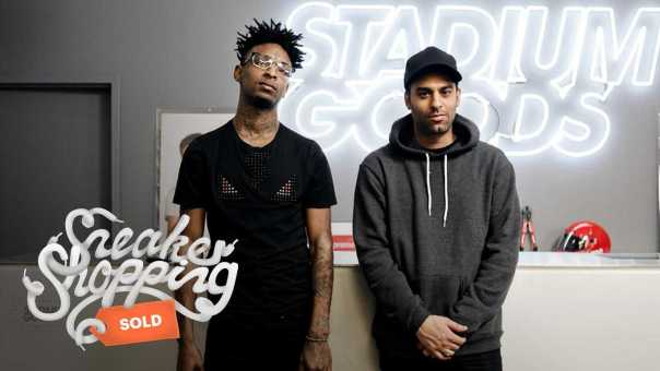21 Savage Goes Sneaker Shopping at Stadium Goods in NYC [Video]