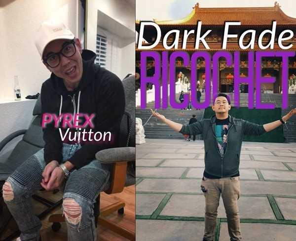 Dark Fade Ricochet and Pyrex Vuitton