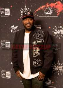 Bun B at New Era's Super Bowl party 'Planet New Era' on Friday, Feb. 3, 2017, in Houston. (Peter Barreras/AP Images for New Era Cap)