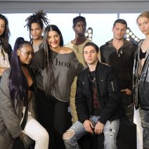 Justine Skye, Tara Peyrache, Black Atlass, Presentation== True Religion Fall 2017 Preview== Milk Studios, NYC== March 30, 2017== ©Patrick McMullan== Photo - Owen Hoffmann/PMC== ==