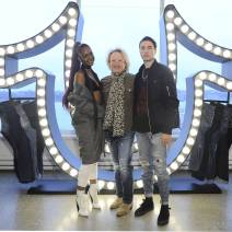 Justine Skye, John Ermitanger, Black Atlass== True Religion Fall 2017 Preview== Milk Studios, NYC== March 30, 2017== ©Patrick McMullan== Photo - Owen Hoffmann/PMC== ==