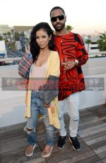 Celebrity Sightings: Jhené Aiko and Big Sean celebrate the launch of the Teva & Jhené Aiko collection at NeueHouse in L.A. [Photos]