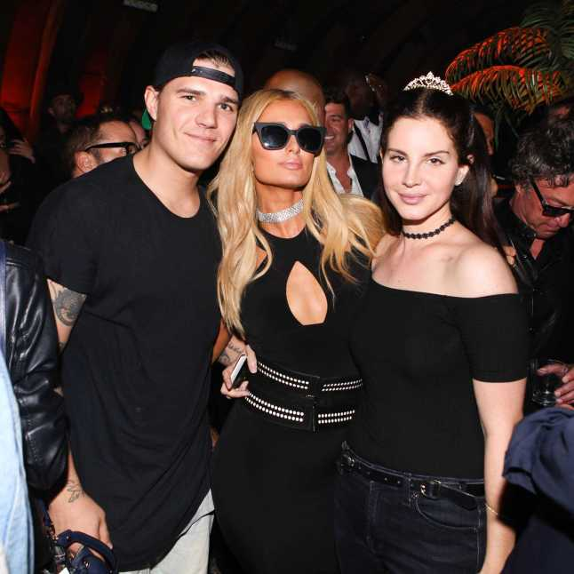 Chris Zylka, Paris Hilton, Lana Del Rey