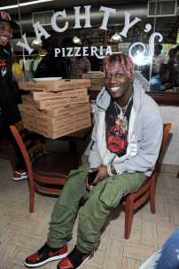 -New York, NY - 8/25/17- Yachty`s Pizzeria -PICTURED: Lil Yachty -PHOTO by: Startraksphoto.com -BDP_9211 Editorial - Rights Managed Image - Please contact www.startraksphoto.com for licensing fee Startraks Photo New York, NY For licensing please call 212-414-9464 or email sales@startraksphoto.com Image may not be published in any way that is or might be deemed defamatory, libelous, pornographic, or obscene. Please consult our sales department for any clarification or question you may have. Startraks Photo reserves the right to pursue unauthorized users of this image. If you violate our intellectual property you may be liable for actual damages, loss of income, and profits you derive from the use of this image, and where appropriate, the cost of collection and/or statutory damages.