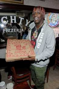 -New York, NY - 8/25/17- Yachty`s Pizzeria -PICTURED: Lil Yachty -PHOTO by: Startraksphoto.com -BDP_9230 Editorial - Rights Managed Image - Please contact www.startraksphoto.com for licensing fee Startraks Photo New York, NY For licensing please call 212-414-9464 or email sales@startraksphoto.com Image may not be published in any way that is or might be deemed defamatory, libelous, pornographic, or obscene. Please consult our sales department for any clarification or question you may have. Startraks Photo reserves the right to pursue unauthorized users of this image. If you violate our intellectual property you may be liable for actual damages, loss of income, and profits you derive from the use of this image, and where appropriate, the cost of collection and/or statutory damages.