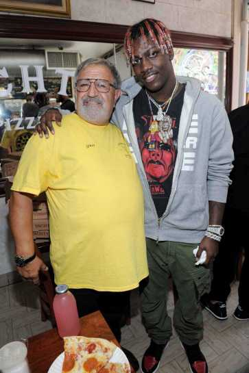 -New York, NY - 8/25/17- Yachty`s Pizzeria -PICTURED: Lil Yachty -PHOTO by: Startraksphoto.com -BDP_9240 Editorial - Rights Managed Image - Please contact www.startraksphoto.com for licensing fee Startraks Photo New York, NY For licensing please call 212-414-9464 or email sales@startraksphoto.com Image may not be published in any way that is or might be deemed defamatory, libelous, pornographic, or obscene. Please consult our sales department for any clarification or question you may have. Startraks Photo reserves the right to pursue unauthorized users of this image. If you violate our intellectual property you may be liable for actual damages, loss of income, and profits you derive from the use of this image, and where appropriate, the cost of collection and/or statutory damages.