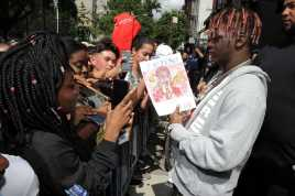 -New York, NY - 8/25/17- Yachty`s Pizzeria -PICTURED: Lil Yachty -PHOTO by: Startraksphoto.com -BDP_9310 Editorial - Rights Managed Image - Please contact www.startraksphoto.com for licensing fee Startraks Photo New York, NY For licensing please call 212-414-9464 or email sales@startraksphoto.com Image may not be published in any way that is or might be deemed defamatory, libelous, pornographic, or obscene. Please consult our sales department for any clarification or question you may have. Startraks Photo reserves the right to pursue unauthorized users of this image. If you violate our intellectual property you may be liable for actual damages, loss of income, and profits you derive from the use of this image, and where appropriate, the cost of collection and/or statutory damages.