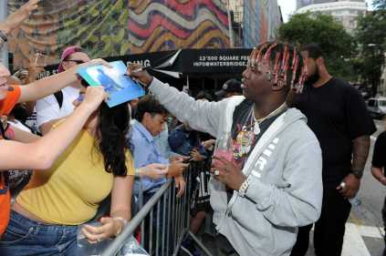 -New York, NY - 8/25/17- Yachty`s Pizzeria -PICTURED: Lil Yachty -PHOTO by: Startraksphoto.com -BDP_9328 Editorial - Rights Managed Image - Please contact www.startraksphoto.com for licensing fee Startraks Photo New York, NY For licensing please call 212-414-9464 or email sales@startraksphoto.com Image may not be published in any way that is or might be deemed defamatory, libelous, pornographic, or obscene. Please consult our sales department for any clarification or question you may have. Startraks Photo reserves the right to pursue unauthorized users of this image. If you violate our intellectual property you may be liable for actual damages, loss of income, and profits you derive from the use of this image, and where appropriate, the cost of collection and/or statutory damages.
