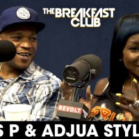 Styles P And His Wife Adjua Styles Talk Health,Their Daughter's Suicide