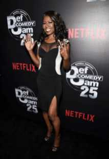 Melanie Comarcho arrive at Def Comedy Jam 25, A Netflix Original Comedy Event, in Beverly Hills on Sunday September 10th.