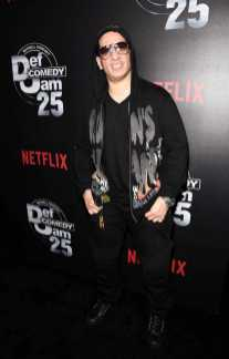 Kid Capri arrives at Def Comedy Jam 25, A Netflix Original Comedy Event, in Beverly Hills on Sunday September 10th.