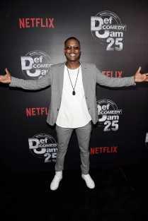 Flex Alexander arrives at Def Comedy Jam 25, A Netflix Original Comedy Event, in Beverly Hills on Sunday September 10th.