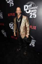 Katt Williams arrives at Def Comedy Jam 25, A Netflix Original Comedy Event, in Beverly Hills on Sunday September 10th.