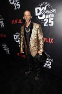 Katt Williams arrives at Def Comedy Jam 25, A Netflix Original Comedy Event, in Beverly Hills on Sunday September 10th.