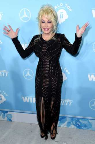 Mandatory Credit: Photo by Richard Shotwell/Variety/REX/Shutterstock (9064179ap) Dolly Parton Variety and Women in Film Emmy Nominee Celebration, Arrivals, Los Angeles, USA - 15 Sep 2017