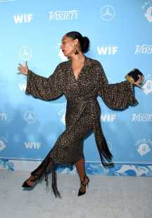 Mandatory Credit: Photo by Richard Shotwell/Variety/REX/Shutterstock (9064179ji) Tracee Ellis Ross Variety and Women in Film Emmy Nominee Celebration, Arrivals, Los Angeles, USA - 15 Sep 2017