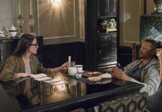"""EMPIRE: Pictured L-R: Guest star Demi Moore and Terrence Howard in the """"Full Circle"""" episode of Wednesday, Oct. 4 (8:00-9:00 PM ET/PT) on FOX. ©2017 Fox Broadcasting Co. CR: Chuck Hodes/FOX"""