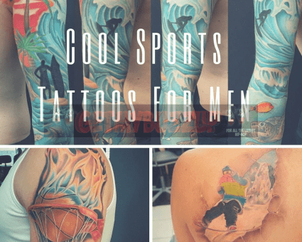 Cool Sports Tattoos For Men